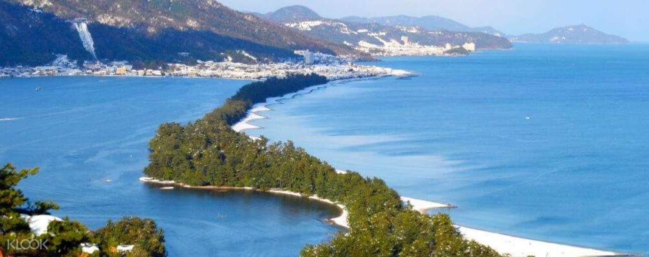 a view of Amanohashidate